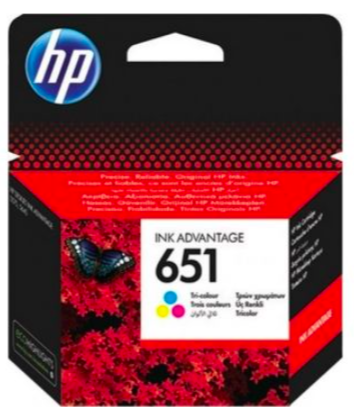 HP 651 Colour - Ink Cartridge
