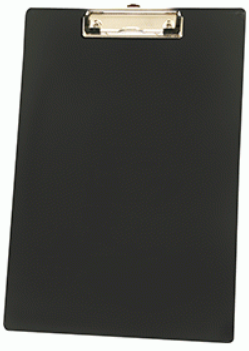 Clipboard PP Single - (Black) (A4 / Foolscap)