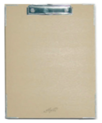 Clipboard Single Earthsave - (Recycled Paper Coating) (A4 / Foolscap)