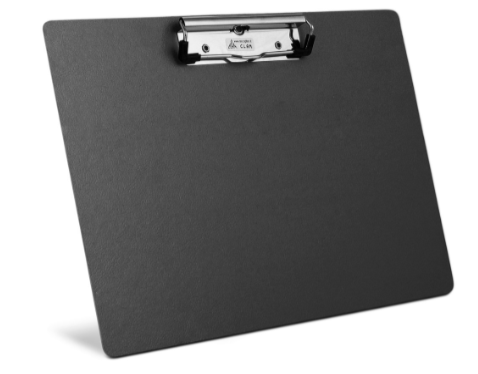 Clipboard Single Horizontal - Various Colours - (A4 / Foolscap)