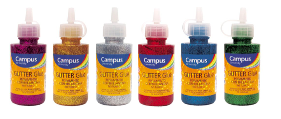 Glitter Glue (Various Colours) - 60gr per bottle