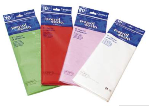 Kite Paper - 50 x 76 cm - (Packet of 10) (Various Colours)
