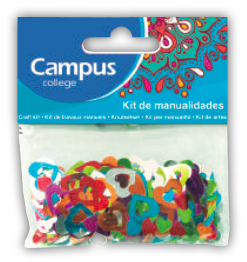 Campus Crafts - Hearts Confetti - (Packet of 14g)