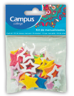 Campus Crafts - Stars - (Packet of 30 pieces)