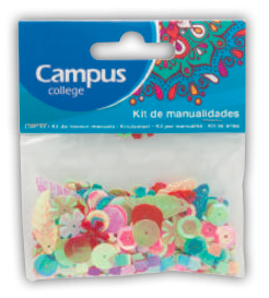 Campus Crafts - Mix of Shapes - (14g packet)