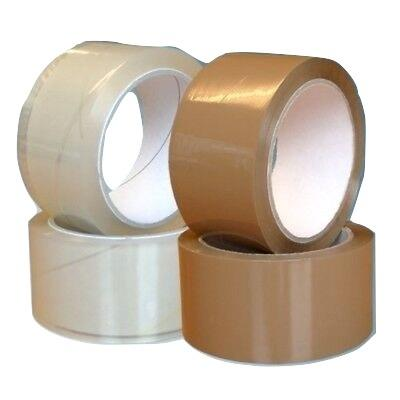 Tapes - Industrial - 50mm x 66m (Transparent or Brown)