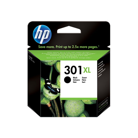 HP 301XL Black - Ink Cartridge