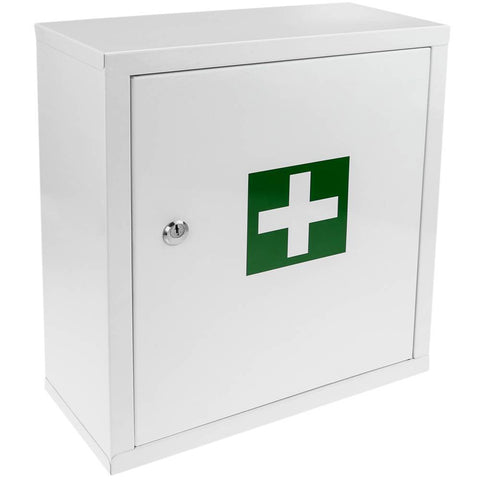 First Aid Metal Cabinet with Key.