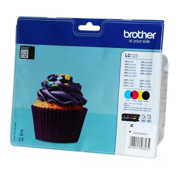 Brother LC123 CMYK - Ink Cartridge