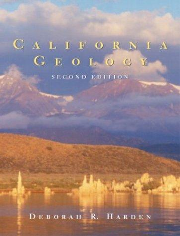 California Geology (2nd Edition), Hardcover, 2 Edition by Harden, Deborah