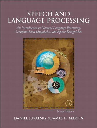 Speech and Language Processing, 2nd Edition, Hardcover, 2nd Edition by Jurafsky, Daniel
