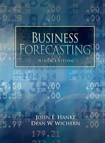 Business Forecasting (9th Edition), Paperback, 9 Edition by Hanke, John E.