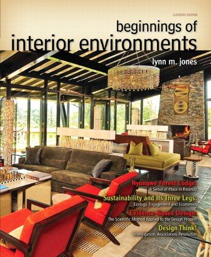 Beginnings of Interior Environments (11th Edition) (Fashion Series), Paperback, 11 Edition by Jones ASID  IIDA  IDEC, Lynn M.