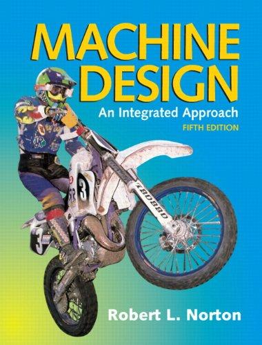 Machine Design (5th Edition), Hardcover, 5 Edition by Norton, Robert L.
