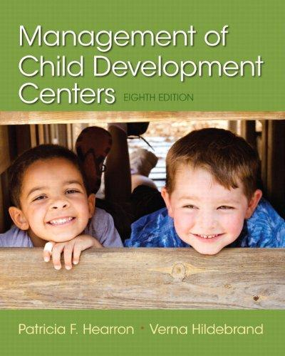 Management of Child Development Centers (8th Edition), Paperback, 8 Edition by Hearron, Patricia F.