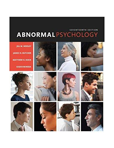 Abnormal Psychology (17th Edition), Hardcover, 17 Edition by Hooley, Jill M.