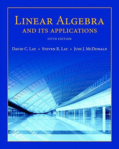 Linear Algebra and Its Applications plus New MyLab Math with Pearson eText -- Access Card Package (5th Edition) (Featured Titles for Linear Algebra (Introductory)), Hardcover, 5 Edition by Lay, David C.