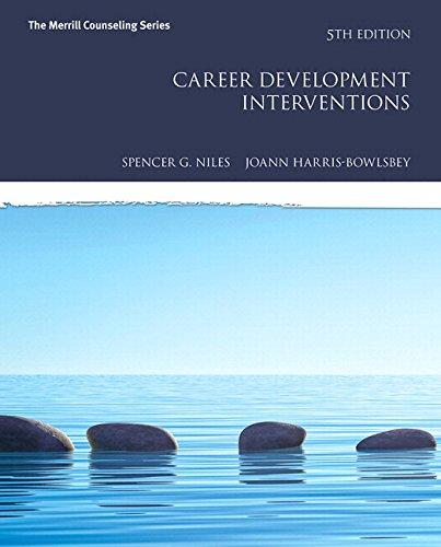 Career Development Interventions with MyLab Counseling with Pearson eText -- Access Card Package (5th Edition) (Mycounselinglab), Hardcover, 5 Edition by Niles, Spencer G.