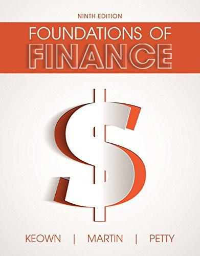 Foundations of Finance (9th Edition) (Pearson Series in Finance), Hardcover, 9 Edition by Keown, Arthur J.