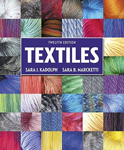 Textiles (12th Edition), Hardcover, 12 Edition by Kadolph, Sara J