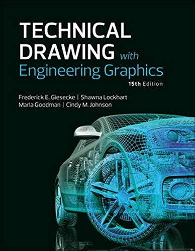 Technical Drawing with Engineering Graphics (15th Edition), Hardcover, 15 Edition by Giesecke, Frederick E.
