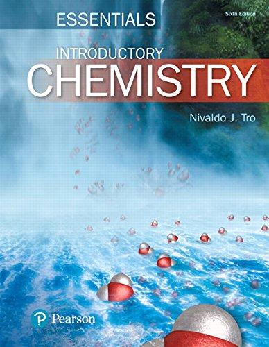 Introductory Chemistry Essentials Plus Mastering Chemistry with Pearson eText -- Access Card Package (6th Edition) (New Chemistry Titles from Niva Tro), Hardcover, 6 Edition by Tro, Nivaldo J.
