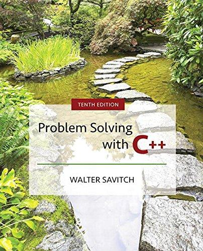 Problem Solving with C++ (10th Edition), Paperback, 10 Edition by Savitch, Walter