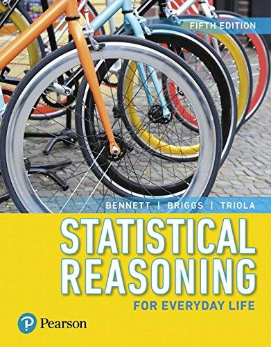 Statistical Reasoning for Everyday Life (5th Edition), Paperback, 5 Edition by Bennett, Jeff