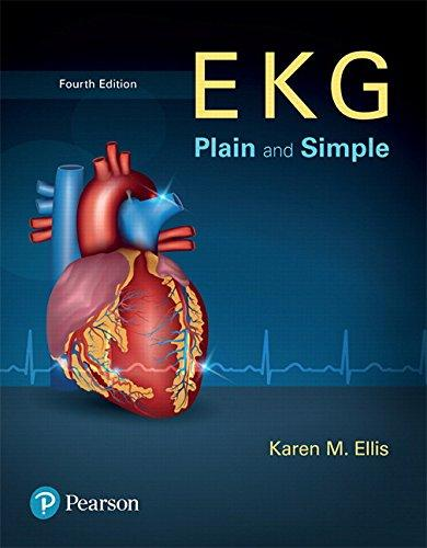 EKG Plain and Simple (4th Edition), Paperback, 4 Edition by Ellis, Karen