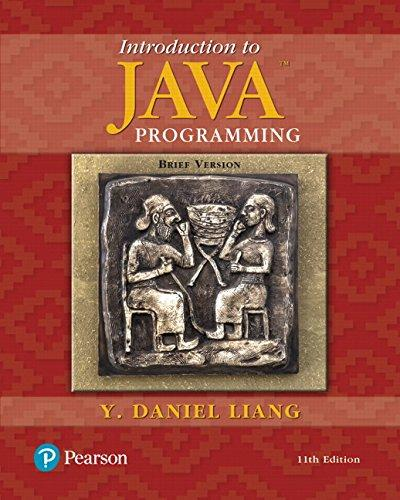 Introduction to Java Programming, Brief Version (11th Edition), Paperback, 11 Edition by Liang, Y. Daniel