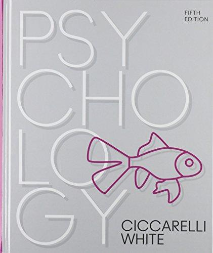 Psychology (5th Edition), Hardcover, 5 Edition by Ciccarelli, Saundra K.