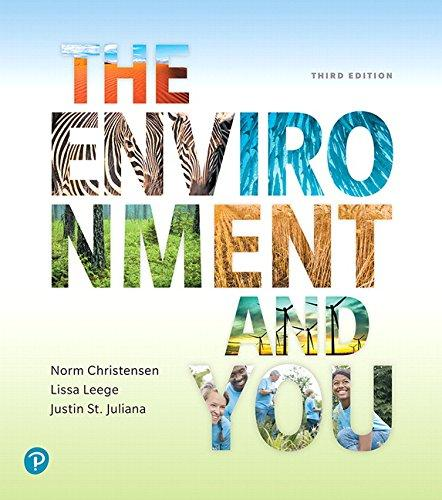 The Environment and You (3rd Edition), Paperback, 3 Edition by Christensen, Norm