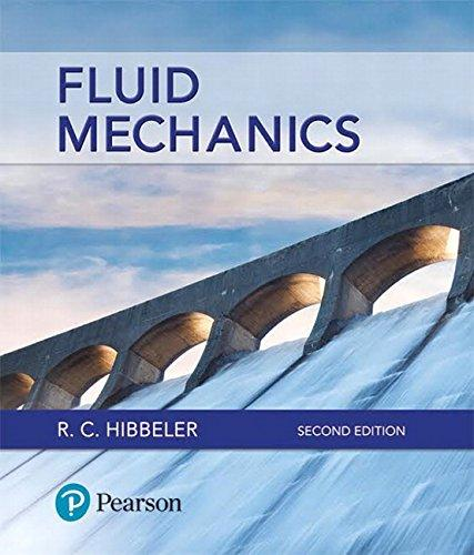 Fluid Mechanics (2nd Edition), Hardcover, 2 Edition by Hibbeler, Russell C.