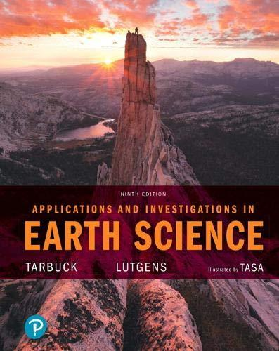 Applications and Investigations in Earth Science (9th Edition), Paperback, 9 Edition by Tarbuck, Edward J.