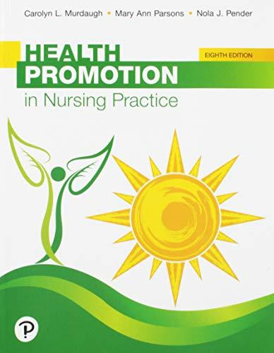Health Promotion in Nursing Practice (8th Edition), Paperback, 8 Edition by Murdaugh, Carolyn L.