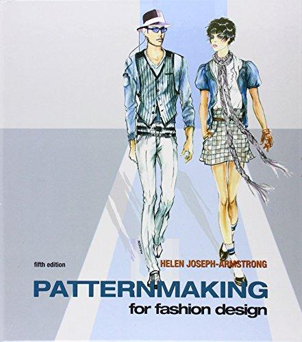 Patternmaking for Fashion Design (5th Edition), Hardcover-spiral, 5 Edition by Armstrong, Helen Joseph
