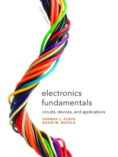 Electronics Fundamentals: Circuits, Devices & Applications (8th Edition), Hardcover, 8 Edition by Floyd, Thomas L.