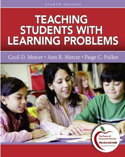 Teaching Students with Learning Problems (8th Edition), Paperback, 8 Edition by Mercer, Cecil D.