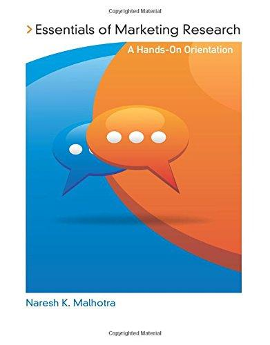 Essentials of Marketing Research: A Hands-On Orientation, Paperback, 1 Edition by Malhotra, Naresh K.