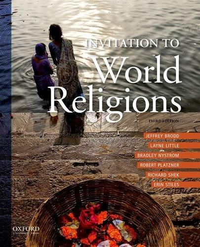 Invitation to World Religions, Paperback, 3 Edition by Brodd, Jeffrey