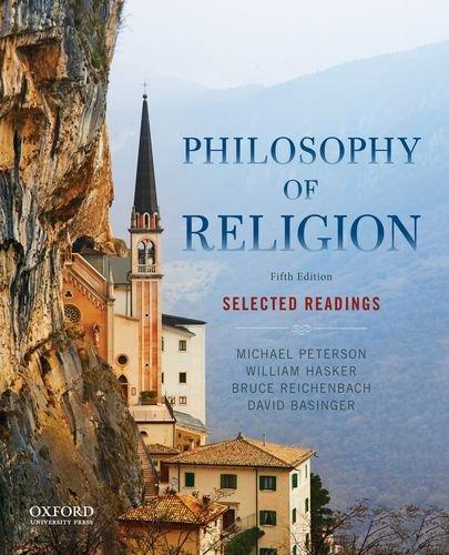 Philosophy of Religion: Selected Readings, Paperback, 5 Edition by Peterson, Michael