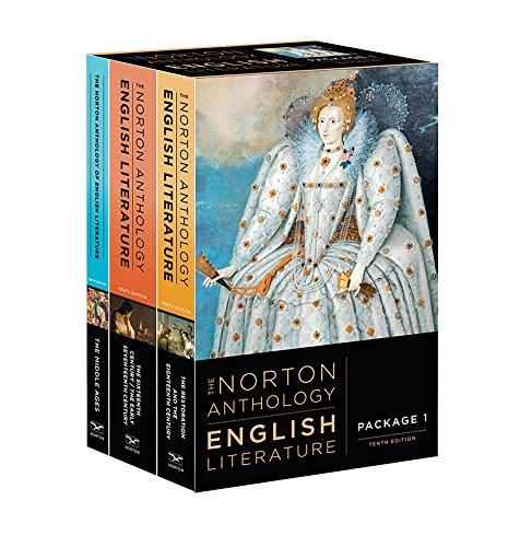 The Norton Anthology of English Literature (Tenth Edition) (Vol. Package 1: Volumes A, B, C), Paperback, Tenth Edition by Greenblatt, Stephen