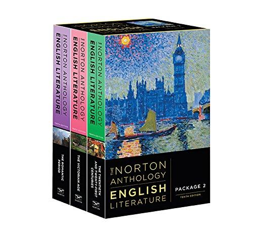 The Norton Anthology of English Literature (Tenth Edition) (Vol. Package 2: Volumes D, E, F), Paperback, Tenth Edition by Greenblatt, Stephen