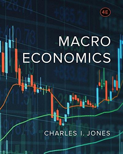 Macroeconomics (Fourth Edition), Hardcover, Fourth Edition by Jones, Charles I.