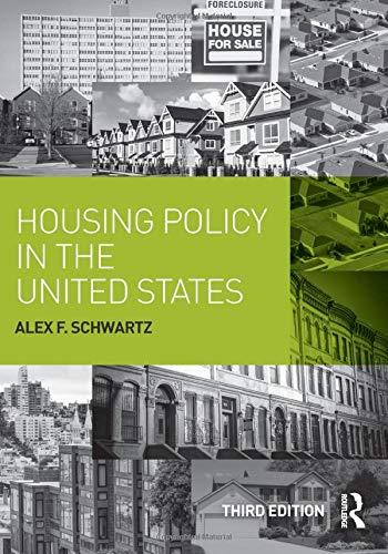 Housing Policy in the United States, Paperback, 3 Edition by Schwartz, Alex F.