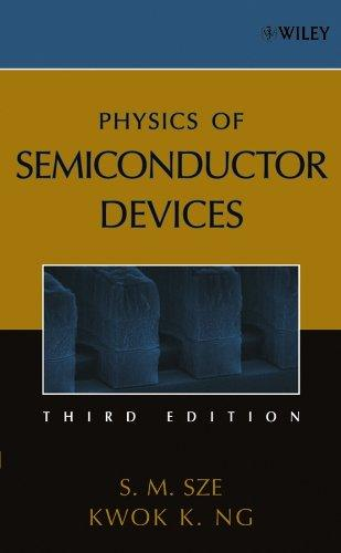 Physics of Semiconductor Devices, Hardcover, 3 Edition by Sze, Simon M.