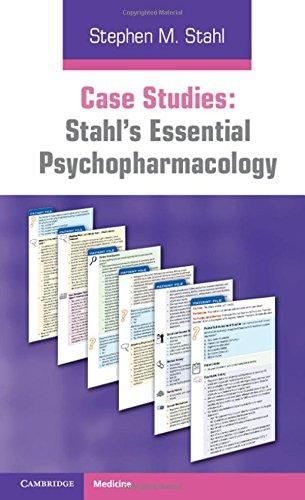 Case Studies: Stahl's Essential Psychopharmacology, Paperback, 1 Edition by Stahl, Stephen M.