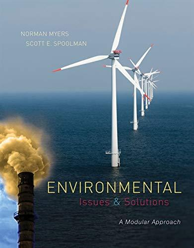 Environmental Issues and Solutions: A Modular Approach, Paperback, 1 Edition by Myers, Norman