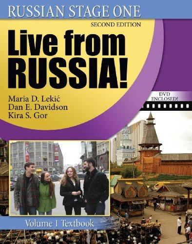 Russian Stage One: Live from Russia, Vol. 1 (Book & CD & DVD), Misc. Supplies, 2 Edition by Maria D Lekic