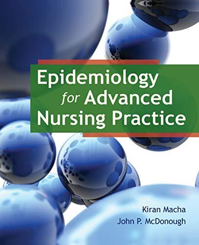 Epidemiology for Advanced Nursing Practice, Paperback, 1 Edition by Macha, Dr. Kiran